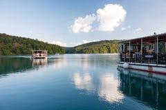 plitvice för croatia lakesnationalpark Royaltyfri Fotografi