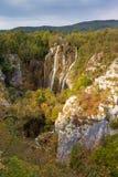 Plitvice fall autumn Stock Image