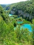 Plitvice-jezera park narodowy Obraz Royalty Free