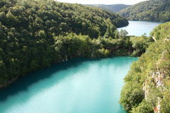 Plitvice jezior park narodowy Obraz Royalty Free