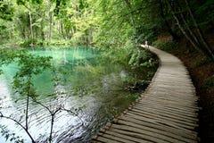 Plitvice jezior park narodowy Obrazy Stock
