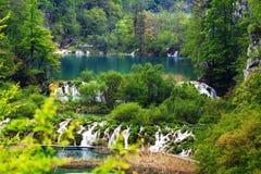 Plitvice jezior park narodowy, Chorwacja Zdjęcie Stock