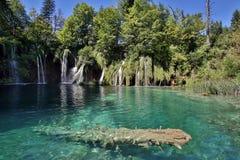 Plitvice jezior park narodowy - Chorwacja Fotografia Royalty Free