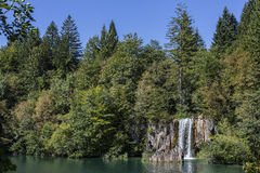 Plitvice jezior park narodowy - Chorwacja Obrazy Stock