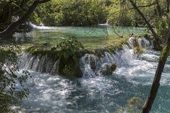 Plitvice jezior park narodowy - Chorwacja Obrazy Royalty Free