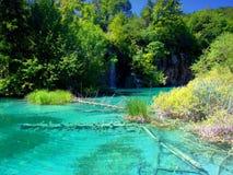 Plitvice jezior park narodowy, Chorwacja Obraz Stock