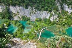 Plitvice Jezior Przepustka Zdjęcie Royalty Free