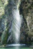Plitvice jezior siklawa zdjęcie stock