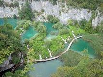 Plitvice jeziora Fotografia Royalty Free