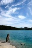 Plitvice - lago foto de stock
