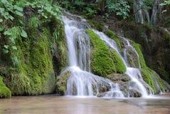 Plitvice lake. The waterfalls in park of plitvice lakes Stock Image