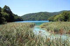 Plitvice lake Royalty Free Stock Photo
