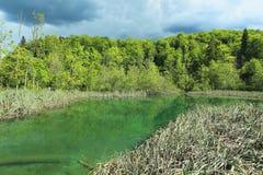 Plitvice lake Arkivbild