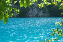 Plitvice lake. National park, Croatia Stock Images