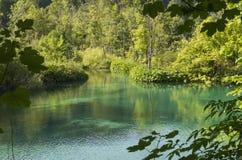 Plitvice lake Royalty Free Stock Images