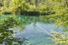 Plitvice lake Royalty Free Stock Photography