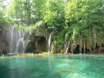 Plitvice Lakes. The Plitvice Lakes is a unique natural pearl unrepeatable on any meridian or parallel of planet Earth...Srecko Bozicevic 1994 Stock Image