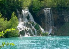 Plitvice Lakes. The Plitvice Lakes is a unique natural pearl unrepeatable on any meridian or parallel of planet Earth...Srecko Bozicevic 1994 Royalty Free Stock Photography