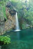 Plitvice Lakes. Beautiful waterfall at Plitvice Lakes National Park stock image