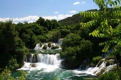 Plitvice lakes. Picture taken of the famous lakes of Plitvice in Croatia Stock Photos