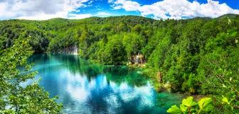 Plitvice lakes Royaltyfri Bild