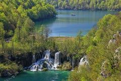 Plitvice lakes Arkivfoto