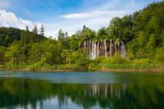 Plitvice lakes royaltyfria bilder