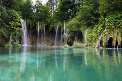 Plitvice lakes Royalty Free Stock Image