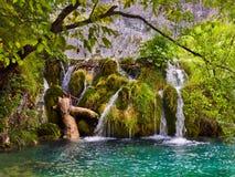 Plitvice lakes in Croatia stock images