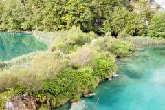 Plitvice lakes - Croatia. Royalty Free Stock Image