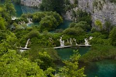 Plitvice lakes, croatia Royalty Free Stock Photography