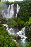 Plitvice Lakes in Croatia Stock Photos