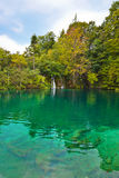 Plitvice lakes in Croatia Royalty Free Stock Photo