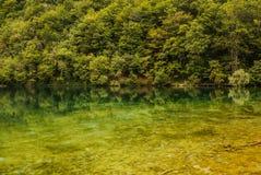 Plitvice lakes in Croatia - nature travel background Stock Photos