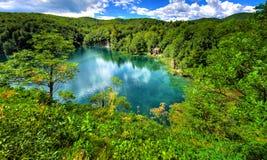 Plitvice lakes. Croatia´s national park Royalty Free Stock Photos