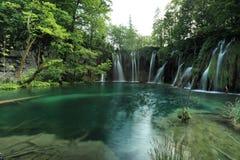 Plitvice lakes in Croatia Royalty Free Stock Photos
