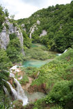 Plitvice Lakes Croatian national park Royalty Free Stock Photo