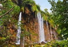 Plitvice lakes i Kroatien royaltyfria bilder