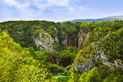 Plitvice Lakes In Croatia Stock Photo