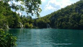 Plitvice lakes. Lake in croatia Stock Image