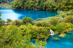 Plitvice Lakes National Park Stock Image