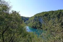 Plitvice lakes national park. Croatia's first National park Plitvice lakes Stock Image