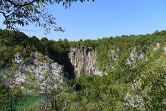 Plitvice lakes national park. Croatia's first National park Plitvice lakes Stock Photo
