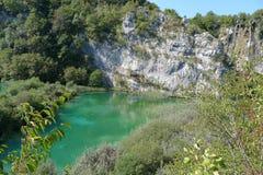 Plitvice lakes national park. Croatia's first National park Plitvice lakes Stock Photos