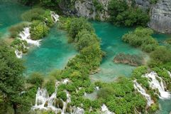 Plitvice Lakes National Park. The Plitvice Lakes (Plitvička jezera) are a national park in Croatia Stock Photography
