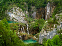 Plitvice Lakes National Park in Croatia. Royalty Free Stock Image