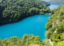 Plitvice Lakes National Park (Croatia) Stock Image