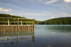 Plitvice Lakes National Park (Croatia) Royalty Free Stock Images
