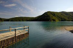 Plitvice Lakes National Park (Croatia) Stock Photo