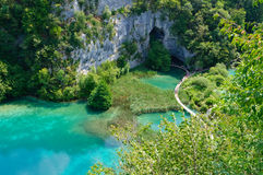 Plitvice Lakes National Park, Croatia stock photos